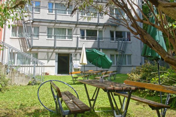 Studentenhaus Neustiftgasse 83 Garten