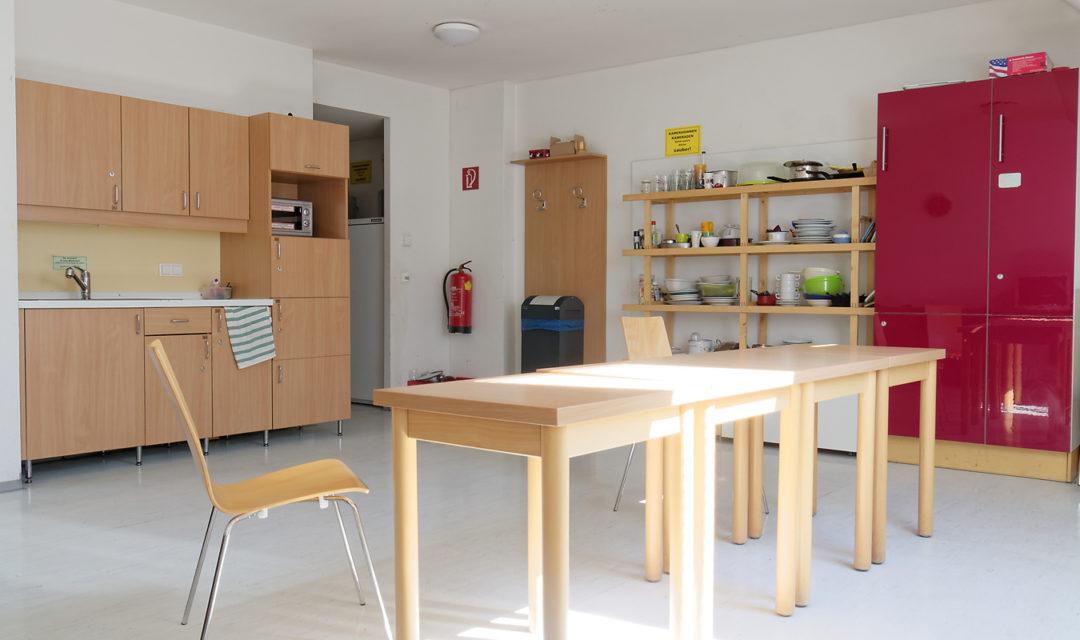 Studentenhaus Türkenstrasse 3 Aufenthaltsraum Küche