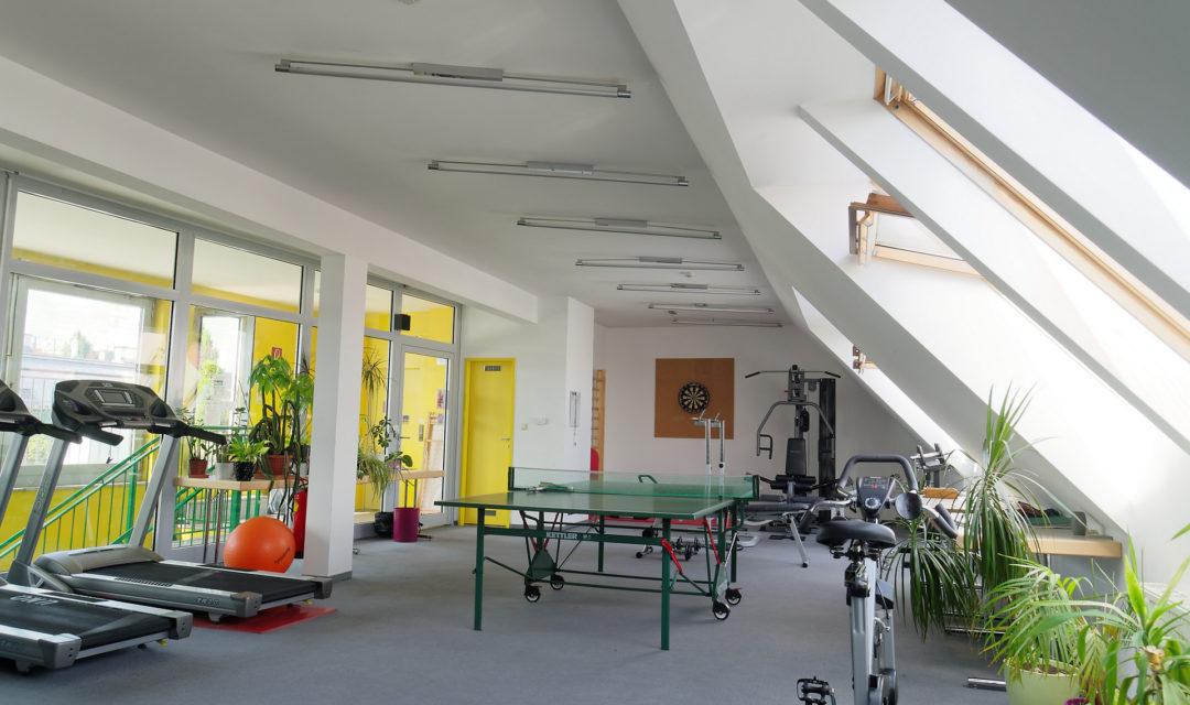 Studentenhaus Neustiftgasse 83 Fitnessraum