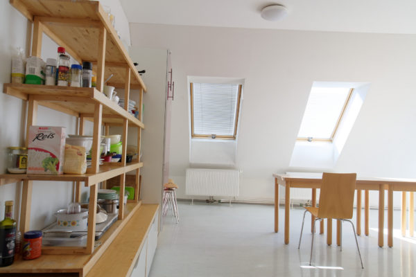 Studentenhaus AAI Aufenthaltsraum Küche