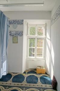 Studentenhaus-AAI-Muslimischer-Gebetsraum